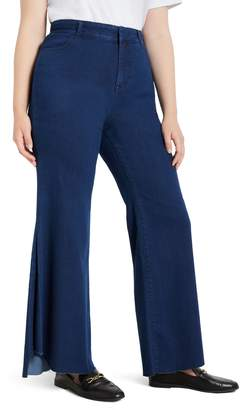 ELOQUII Drama Flare Jeans