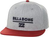 Billabong System Snapback Cap Grey