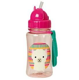 Skip Hop Luna Llama Zoo Straw Bottle