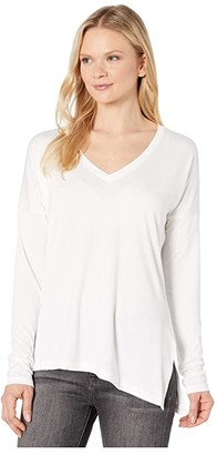 Lole Agda Long Sleeve (White) Women's Clothing