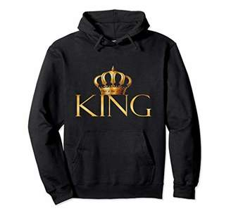 King Gold Crown Birthday Gift Pullover Hoodie