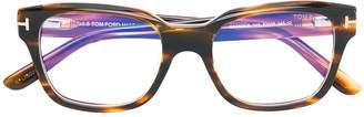Tom Ford Rectangular Shaped Glasses