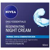 Nivea Daily Essentials Regenerating Night Cream 50 mL
