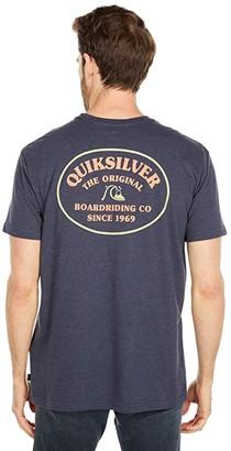 Quiksilver Loose Ends Short Sleeve (Parisian Night) Men's Clothing