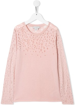 Stella McCartney star motif T-shirt