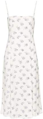 Reformation Vollare floral print midi dress