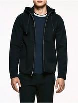 Calvin Klein Platinum Double Faced Hooded Jacket