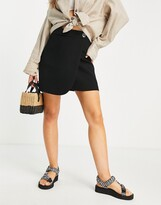 Thumbnail for your product : And other stories & recycled mini skirt in black