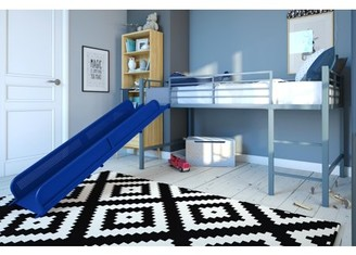 DHP Junior Loft with Slide - Silver with Blue Slide - 5513198