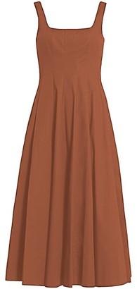 STAUD Wells Midi Dress