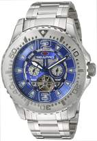 Seapro Men's SP3314 Tidal PX1 Analog Display Automatic Self Wind Silver Watch