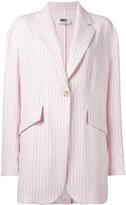 MM6 MAISON MARGIELA striped blazer