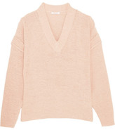 See by Chloe Cotton-blend Sweater - Blush