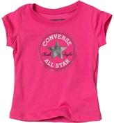 Converse Baby Girls Chuck Patch T-Shirt Pink Paper