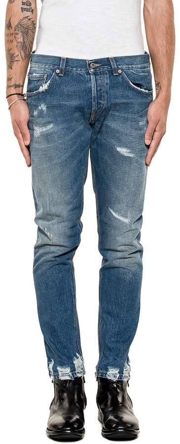 Dondup Blue Mius Denim Jeans