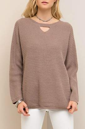 Entro Crisscross Back Sweater