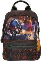 Lanvin Lobster Dune Printed Nylon Backpack