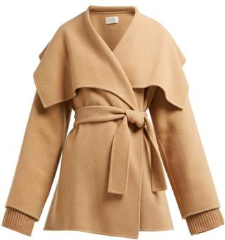 The Row Disa Oversized Cashmere Blend Jacket - Womens - Camel