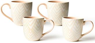 N. Layered Diamond Mug