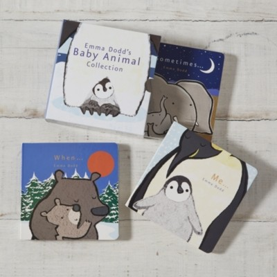 The White Company Baby Animal Collection Books by Emma Dodd, Multi, One Size