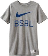 Nike Boys 8-20 Baseball Tee