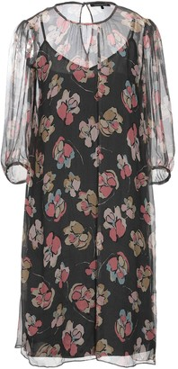LUISA CERANO Knee-length dresses