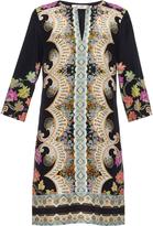 Etro Paisley-print silk tunic dress