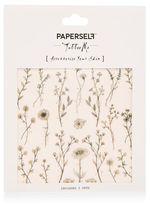 Paperself Wildflower temporary tattoos