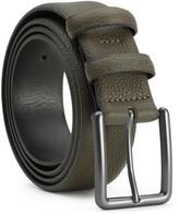 Handmade Leather Belt Green Santiago