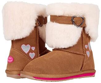 Emu Jensen (Toddler/Little Kid/Big Kid) (Chestnut) Girl's Shoes