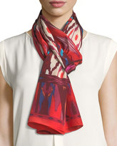 Vince Camuto Tribal Slice Oblong Scarf