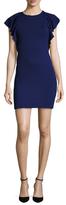 Susana Monaco Lana Ruffle Sleeves Dress