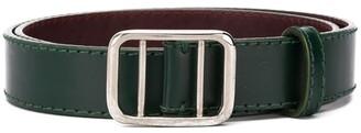 Gianfranco Ferré Pre Owned 1990 Adjustable Leather Belt