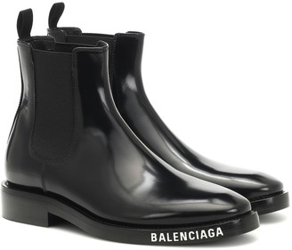 Balenciaga Patent-leather ankle boots