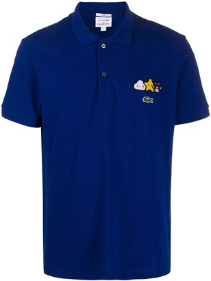 Lacoste x Friends With You applique detail polo shirt