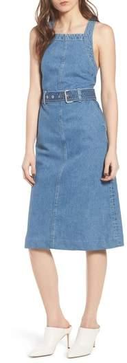 DL1961 Roxanne Belted Denim Dress