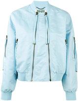 Kenzo double-zip bomber jacket - women - Acrylic/Nylon/Polyamide/Spandex/Elastane - XS
