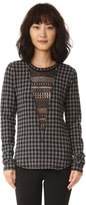 Marissa Webb Giles Plaid Top