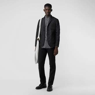 Burberry Diamond Quilted Thermoregulated Blazer