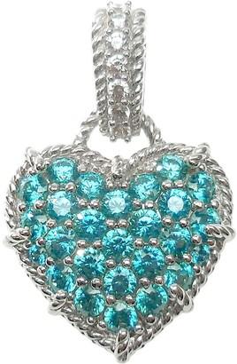 Judith Ripka Sterling Diamonique & Choice of Heart Enhancer