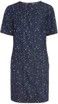 Dorothy Perkins **Tall Blue Star Print Shift Dress
