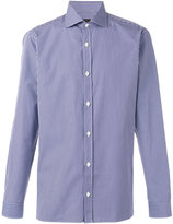 Z Zegna checked shirt - men - Cotton - 40