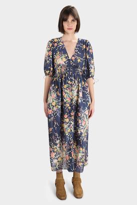 Zimmermann Zinnia Shirred Waist Dress