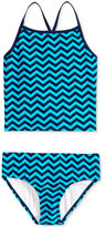 Kanu Surf 2-Pc. Alexa Wave-Print Tankini Swimsuit, Big Girls (7-16)