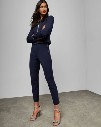 Ted Baker Side Zip Skinny Trousers