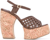 Paloma Barceló woven platform sandals