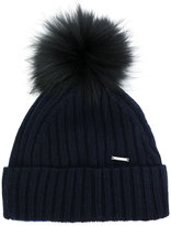 Woolrich ribbed bobble hat