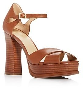 MICHAEL Michael Kors Women's Elana Platform Block-Heel Sandals