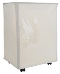 Mind Reader 65 Liter Rolling Laundry Hamper, Fabric Laundry Basket