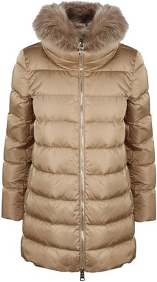 Herno Down Jacket With Fur Collar